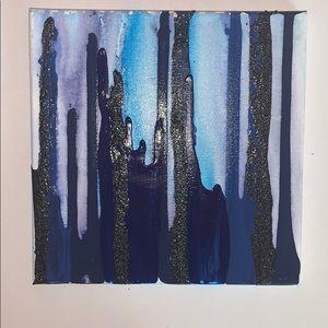 Painting - Midnight Rose